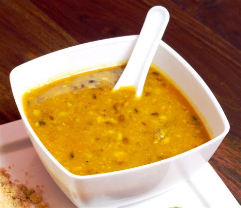 vegetarian indian yellow split pea dal recipe