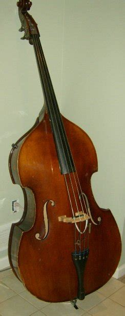 picture  double bass contrabass  german framus