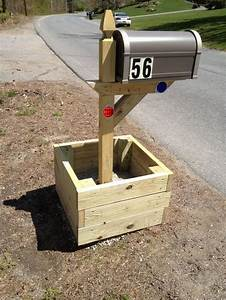 Mailbox planter For the New Home Pinterest