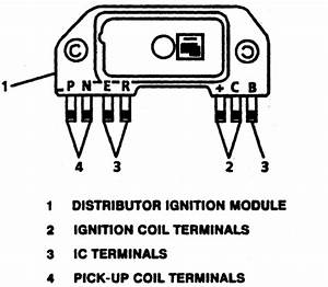 93 Lumina Apv  Van  Distributor  Hooked To The Module And