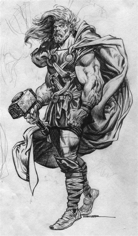 "lulubonanza: "" Odinson by ~LeviathanSmiles "" | Art in 2019 | Comic books art, Thor tattoo, Comic art"