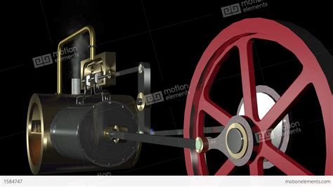 3d Engine Animation Wallpaper - steam engine animation hd stock animation 1584747