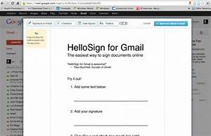 hellosign sign documents directly from gmail profhacker With sign documents gmail