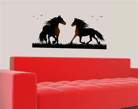 Wandtattoo Kinderzimmer Mädchen Pferde by Pferd Pferde Reiten Wandtattoo Wandtattoos Wand Aufkleber