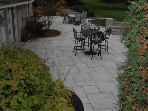 unilock yorkstone lake county il unilock patio pavers brick paver patios