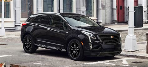 cadillac xt midnight edition rendered gm authority