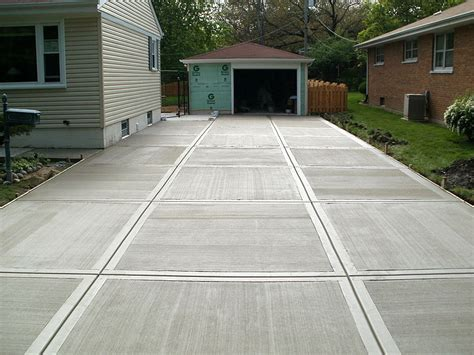 concrete flat work driveways patios steps steger