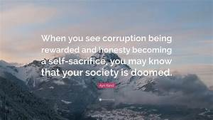 Ayn Rand Quote:... Self Sacrifice Hero Quotes