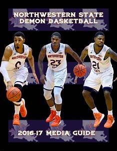 2016-17 Northwestern State Men's Basketball Media Guide by ...