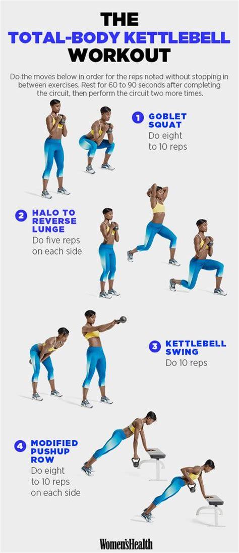 body kettlebell workout total moves training toning fitness kettleball fresh