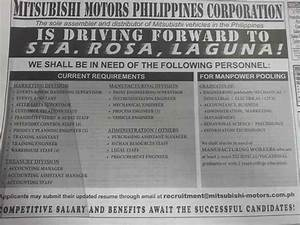 Mitsubishi Motors Philippines Corporation Job Openings ...