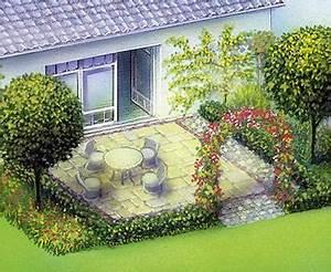Schöne Terrassen Ideen : garten terrasse planen haloring ~ Orissabook.com Haus und Dekorationen