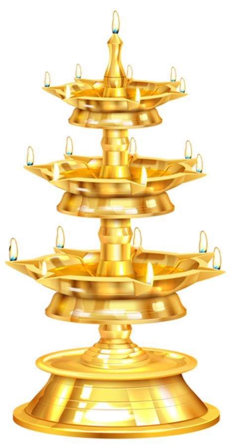 Happy Diwali Candlestick Free Png Clip Art Image Gallery