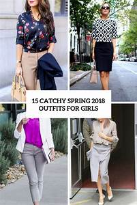 Picture Of catchy spring 2018 outfits for girls cover