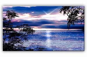 Bilder Natur Leinwand : sonnenuntergang meer natur bild bilder leinwand wandbild kunstdruck ebay ~ Markanthonyermac.com Haus und Dekorationen