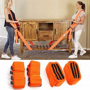 Lifting Moving Strap Transport Belt Wrist Strap Furniture Mover Diy