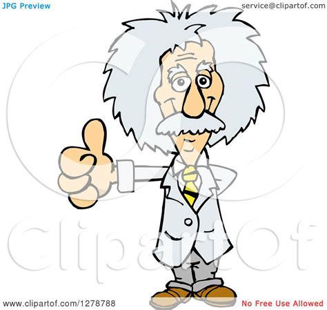 einstein clipart clipart of a scientist albert einstein giving a thumb up