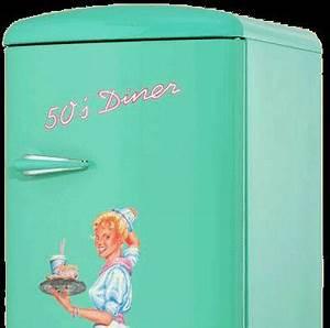 Amerikanischer retro kuhlschrank der 50er jahre in turkis for Amerikanische kühlschr nke retro