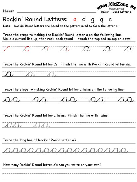great cursive writing site groups  letters