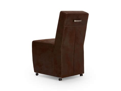 chaise simili cuir chaise simili cuir marron