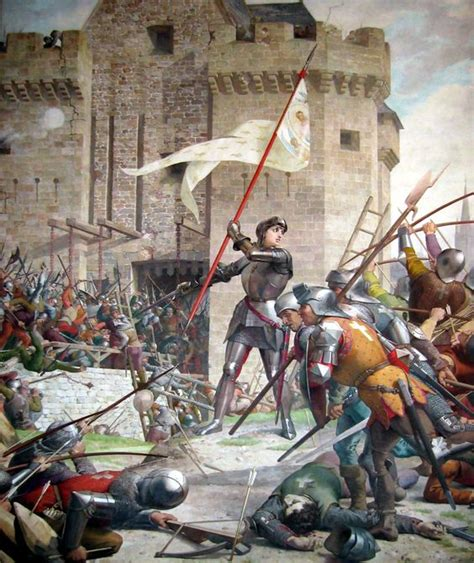 siege d orleans jeanne d 39 arc at the siege of orleans hundred years war