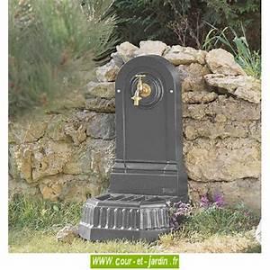 Fontaine De Jardin En Fonte : fontaine murale fontaine fonte ou fontaine de terrasse ~ Melissatoandfro.com Idées de Décoration