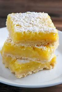 Sunny Lemon Squares - Baker by Nature