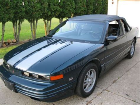 manual cars for sale 1995 oldsmobile achieva regenerative braking find used 1995 oldsmobile cutlass supreme convertible in cass city michigan united states