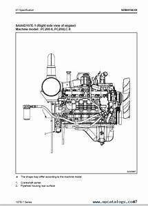 Komatsu Engine 107e