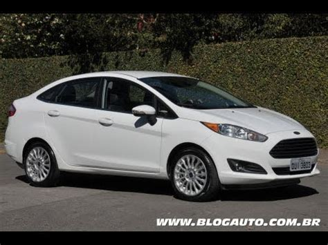 ford  fiesta sedan  apresentacao blogauto youtube