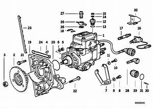 Original Parts For E36 325td M51 Sedan    Fuel Preparation