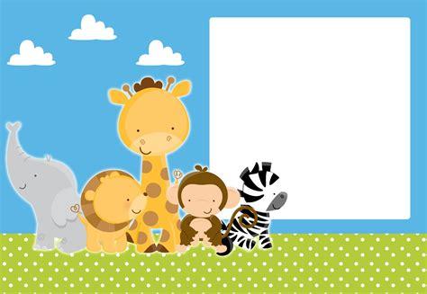 kits imprimibles piquilin kit imprimible animalitos selva gratis