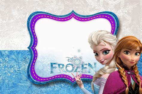 frozen  printable invitation templates