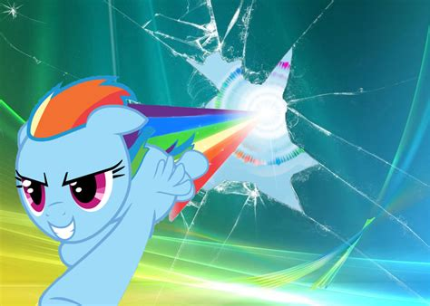 Touch Screen Animated Wallpapers - rainbow dash broken screen wallpaper wallpapersafari