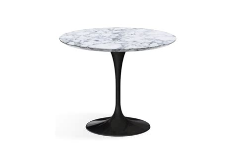 table basse marbre ronde saarinen table basse ronde de marbre knoll milia shop