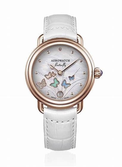 Aerowatch Schmetterling Sahak Damenuhr Uhr