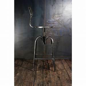 Chaise Bar Industriel : tabouret industriel chaises haute bar tabouret d ~ Farleysfitness.com Idées de Décoration