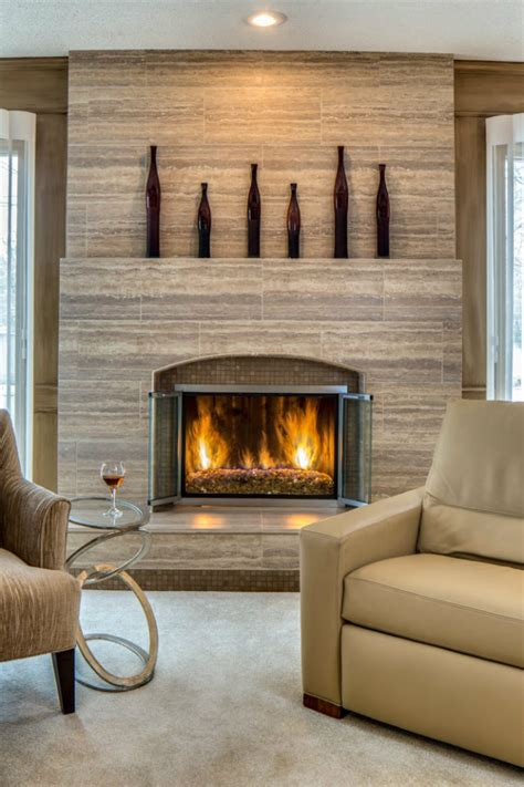 Decorating Ideas For Living Room With Fireplace by Top 20 Fireplace Decorating Ideas