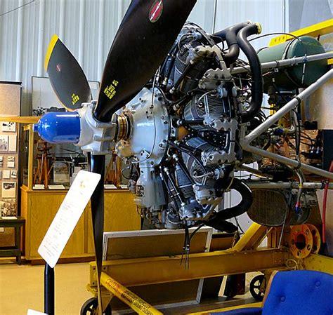 10 Wright Cyclone R-1820 Radial Engine
