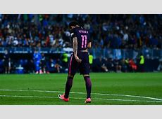 Neymar's red card and a clear penalty Barcelona's title
