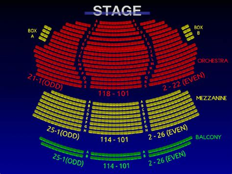 walter kerr theatre interactive   broadway seating