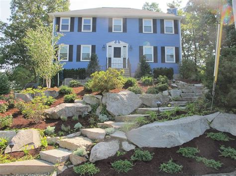 sloped front yard landscaping front yard hill landscaping ideas landscaping network