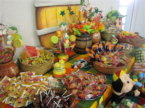 Candy Buffet ideas for el chavo party El Paso Party Hall