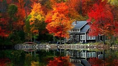 Fall Desktop Autumn Wallpapers Most Lake Scenery