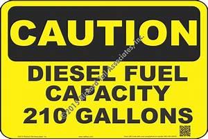 Nfpa 704 Diesel Placard