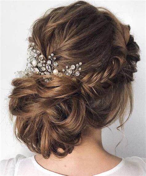 romantic wedding updo hairstyles   bridal