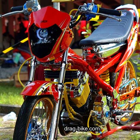 50 gambar modifikasi satria fu build up thailand air brush kontes terbaik terkeren