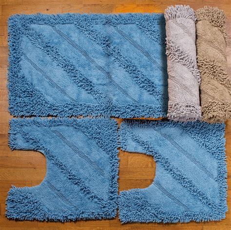 set tappeti per bagno tappeti bagno set 3 pezzi familia service