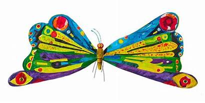 Caterpillar Hungry Butterfly Very Clipart Puppet Carle
