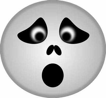 Ghost Halloween Clipart Smiley Emoji Face Faces